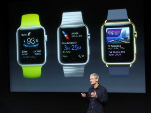 Tim Cook talks about the Apple Watch